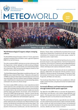 MeteoWorld No.2 June 2019