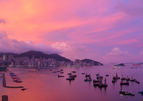 Ocean colours: Alfred Lee (Hong Kong S.A.R., China)