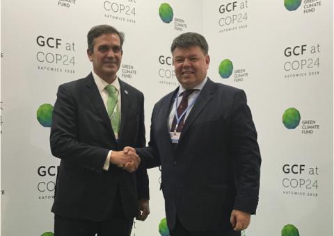 WMO and GCF