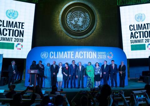 UN Climate Action summit 23.9.2019