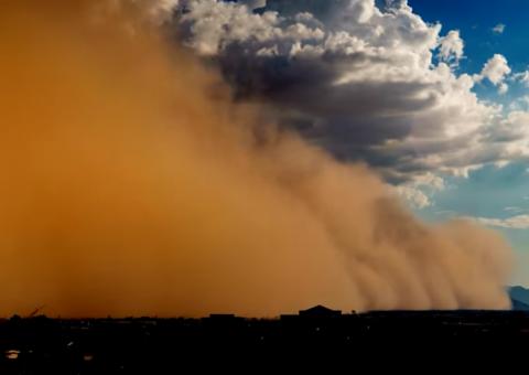 Prémunir les populations contre les tempêtes de sable et de poussière