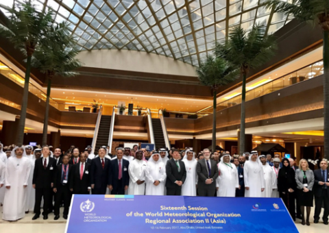 WMO Regional Association for Asia opening session, Abu Dhabi, 11 Feb