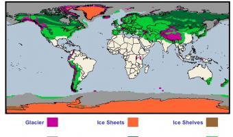 Global Cryosphere by Type