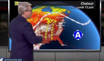 Weather presenters