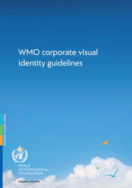 WMO Corporate Visual Identity Guidelines