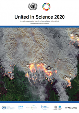 United in Science 2020 Report Cover