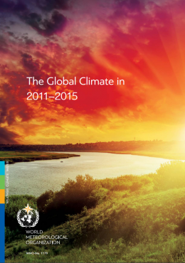 The Global Climate in 2011-2015