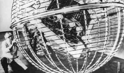 Tiros 1960, meteorological satellite pre-launch test.jpg