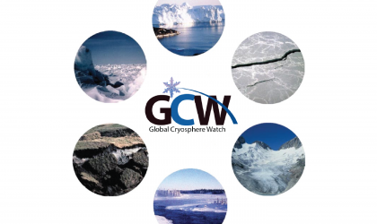 GCW logo with domain illustrations.