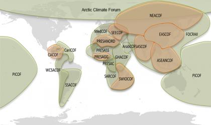 Regional Climate Outlook Forums - RCOFs / WMO