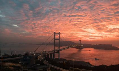 Lave sunset - Hong Kong
