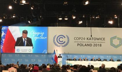 COP24 Secretary-General, Petteri Taalas