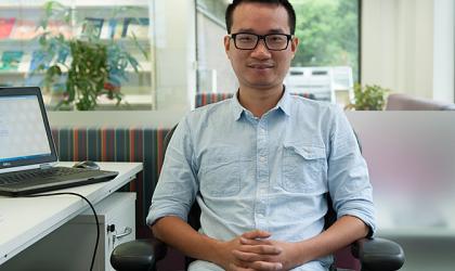 WMO Fellow Nguyen Tung