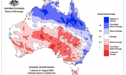 Figure 2: Australia drought monitoring