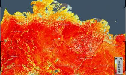 Reported new record temperature