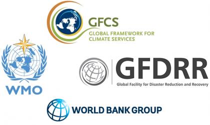WMO / GFCS / GFDRR / WB - logos
