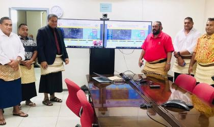 MET Office launches new website - Tonga
