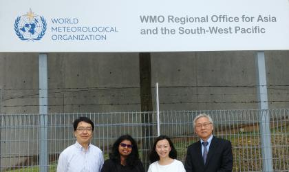WMO Asia-Pacific office opens in Singapore