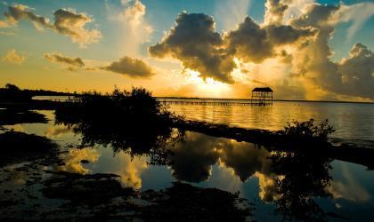Ocean Decade.  Las Canas Beach, Pinar del Río, Cuba. By Raudel del Llano