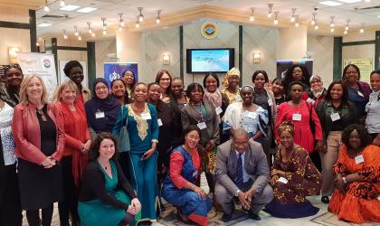 Women`s Leadership Workshop in Africa