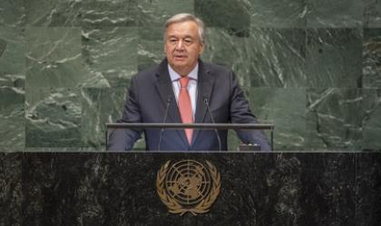 Climate change is moving faster than we are: UN Secretary-General