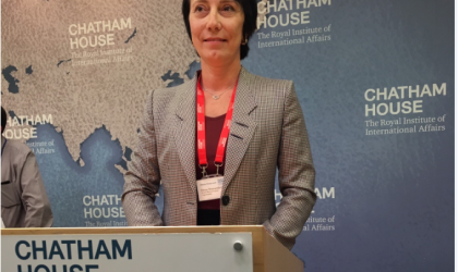 WMO Deputy Secretary-General Elena Manaenkova
