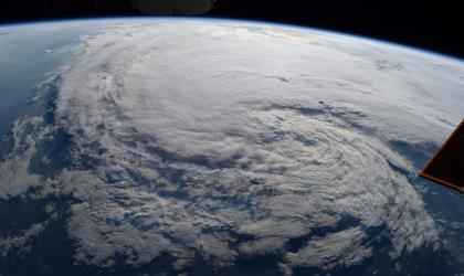 Tropical cyclone Harvey. Photo: NASA