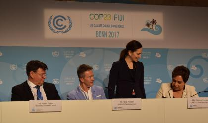 WMO and UNFCCC sign cooperation agreement 2017