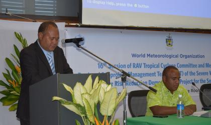 Experts of tropical cyclones warnings meets in Honiara