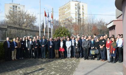 South East Europe Multi-Hazard Early Warning System meeting, Skopje