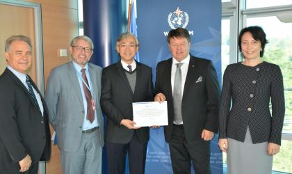 "Hong Kong recognized as ""Centennial Observing Station"""