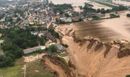 Climate Change made Europe floods more likely