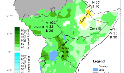 GHACOF rainfall forecast for March-May 2020