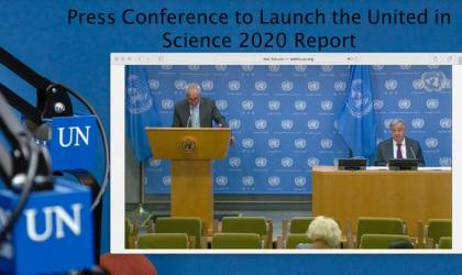 UN Secretary-General launches United in Science report