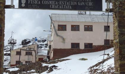 Chacaltaya Climate Change Station, Bolivia