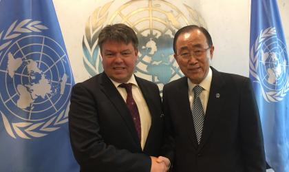 WMO briefs UN Secretary-General Ban Ki-moon on state of climate