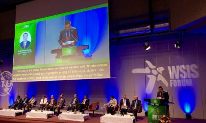 WMO ASG Wenjian Zhang speaks at WSIS Forum 9.4.2019