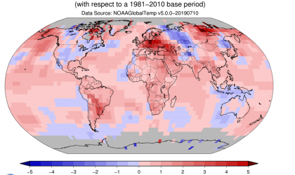 June 2019 sets new global temperature record