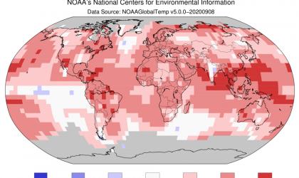 Northern hemisphere warmest summer on record