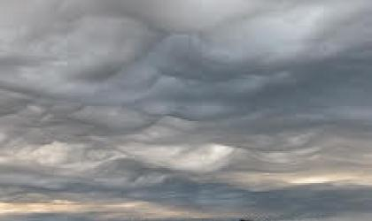 Added supplementary feature asperitas (Stratocumulus asperitas),Burnie, Tasmania, Australia. Photo Gary McArthur