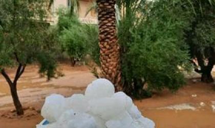Extreme weather Libya