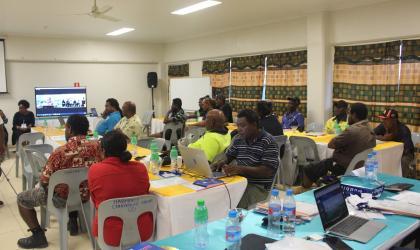 Solomon Islands holds marine and ocean services workshop