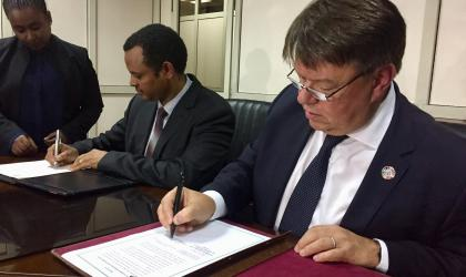 WMO signs agreement for new Regional Office for Africa in Addis Ababa, Ethiopia