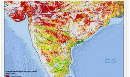 South Asia drought monitoring system tool
