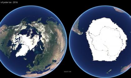 EUMETSAT: A year in polar ice
