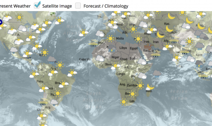 World Weather Information Service website revamped
