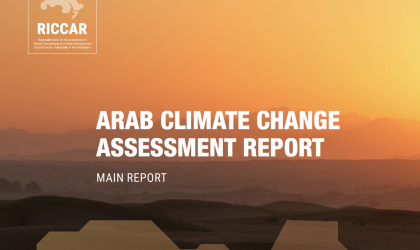 Climate change assessment and adaptation in Arab region 2017