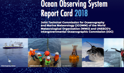 Ocean observing system report card