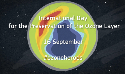 International Ozone Day: Keep Cool and Carry On