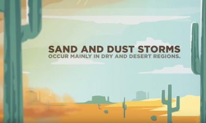 WMO acts on sand and dust storms